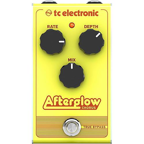 TC Electronic Afterglow Chorus Effect Pedal thumbnail