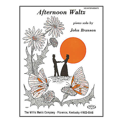 Willis Music Afternoon Waltz Later Elementary Piano Solo by John Branson thumbnail