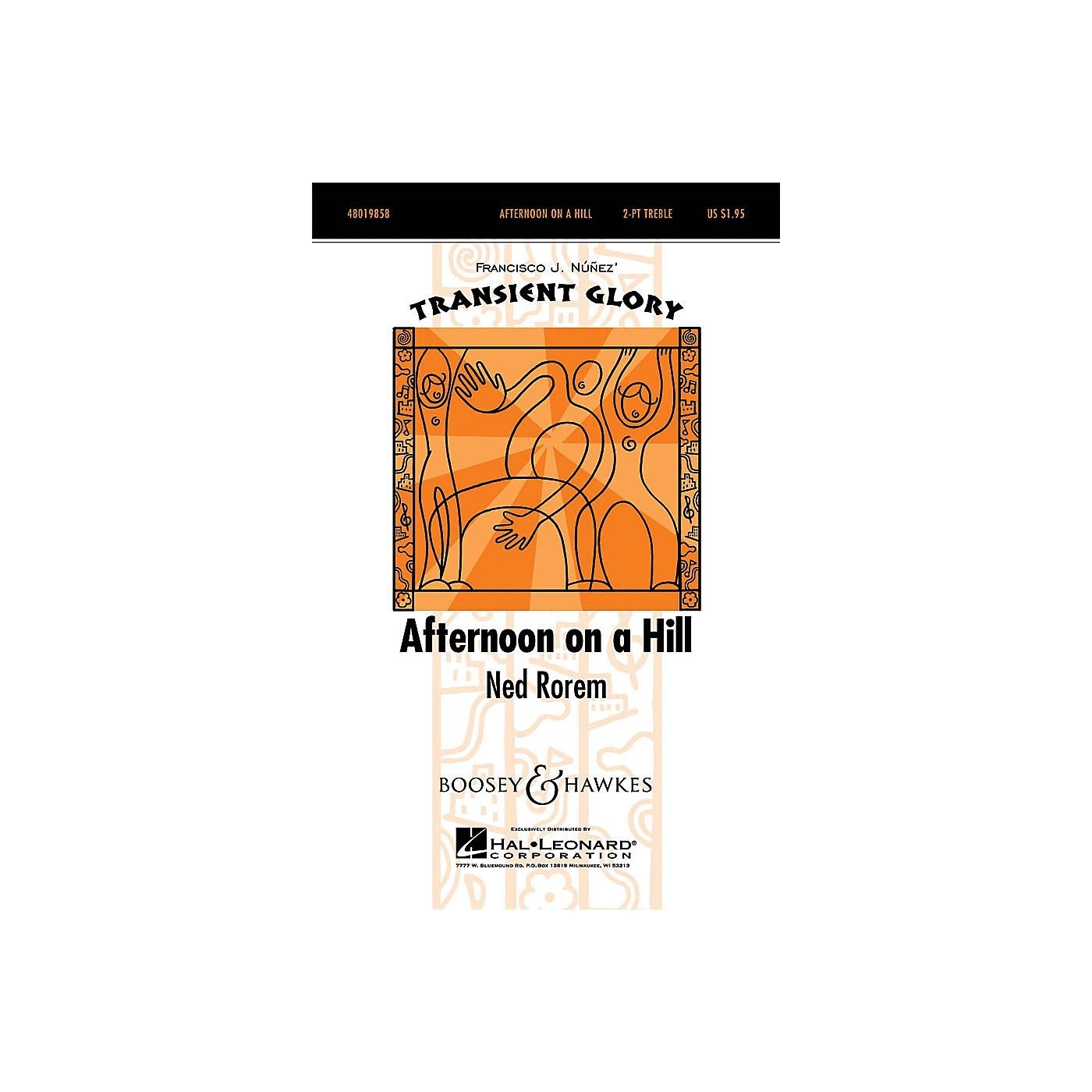 Boosey and Hawkes Afternoon on a Hill (Transient Glory Series) 2-Part composed by Ned Rorem thumbnail
