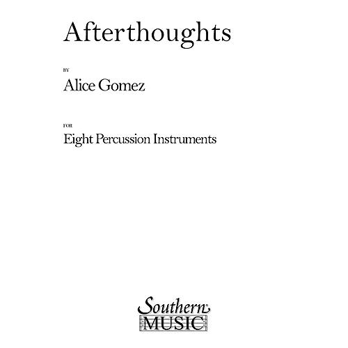 Hal Leonard Afterthoughts (Percussion Music/Percussion Ensembles) Southern Music Series Composed by Gomez, Alice thumbnail