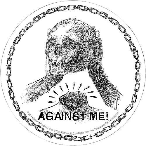 C&D Visionary Against Me Skull Sticker thumbnail