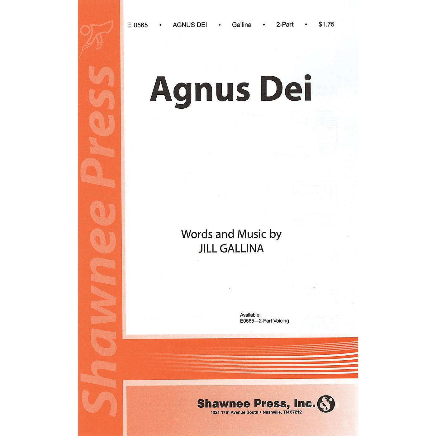 Shawnee Press Agnus Dei 2-Part composed by Jill Gallina thumbnail
