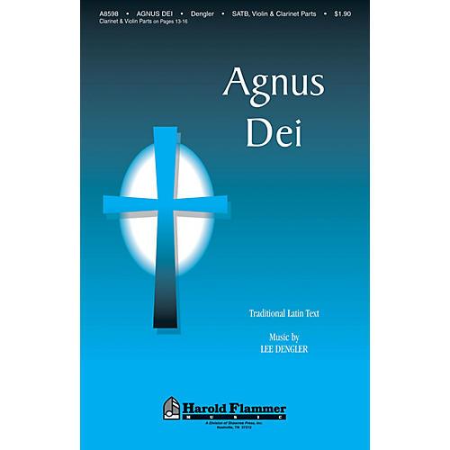 Shawnee Press Agnus Dei SATB composed by Lee Dengler thumbnail