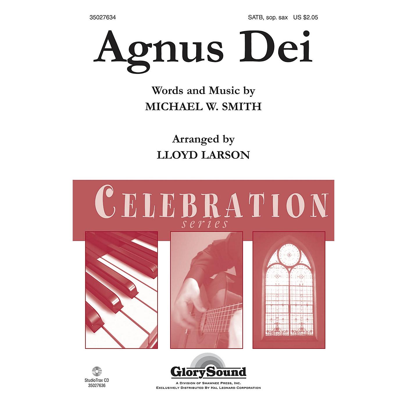 Shawnee Press Agnus Dei Studiotrax CD by Michael W. Smith Arranged by Lloyd Larson thumbnail