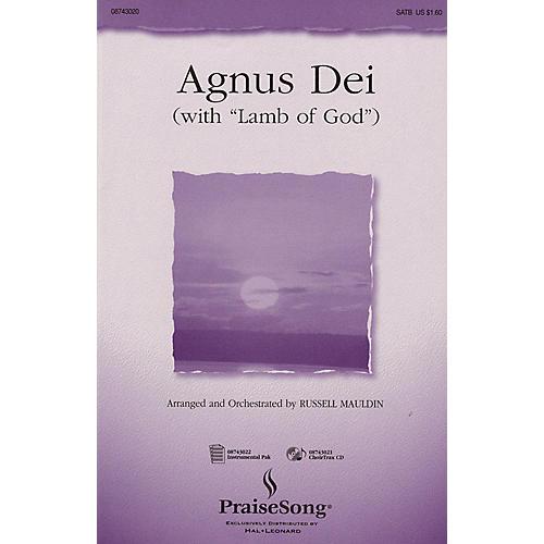 PraiseSong Agnus Dei (with Lamb of God) (I-Pak (Full Orchestra)) IPAKO Arranged by Russell Mauldin thumbnail