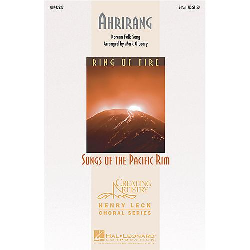 Hal Leonard Ahrirang 2-Part arranged by Mark O'Leary thumbnail