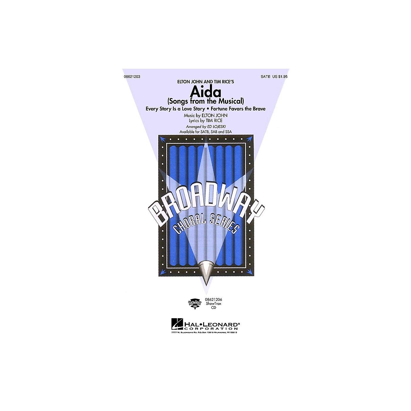 Hal Leonard Aida (Songs from the Musical) SAB Arranged by Ed Lojeski thumbnail