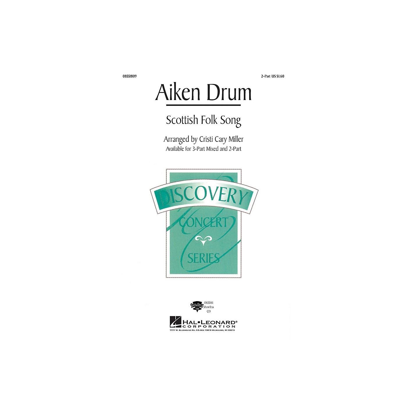 Hal Leonard Aiken Drum 2-Part arranged by Cristi Cary Miller thumbnail