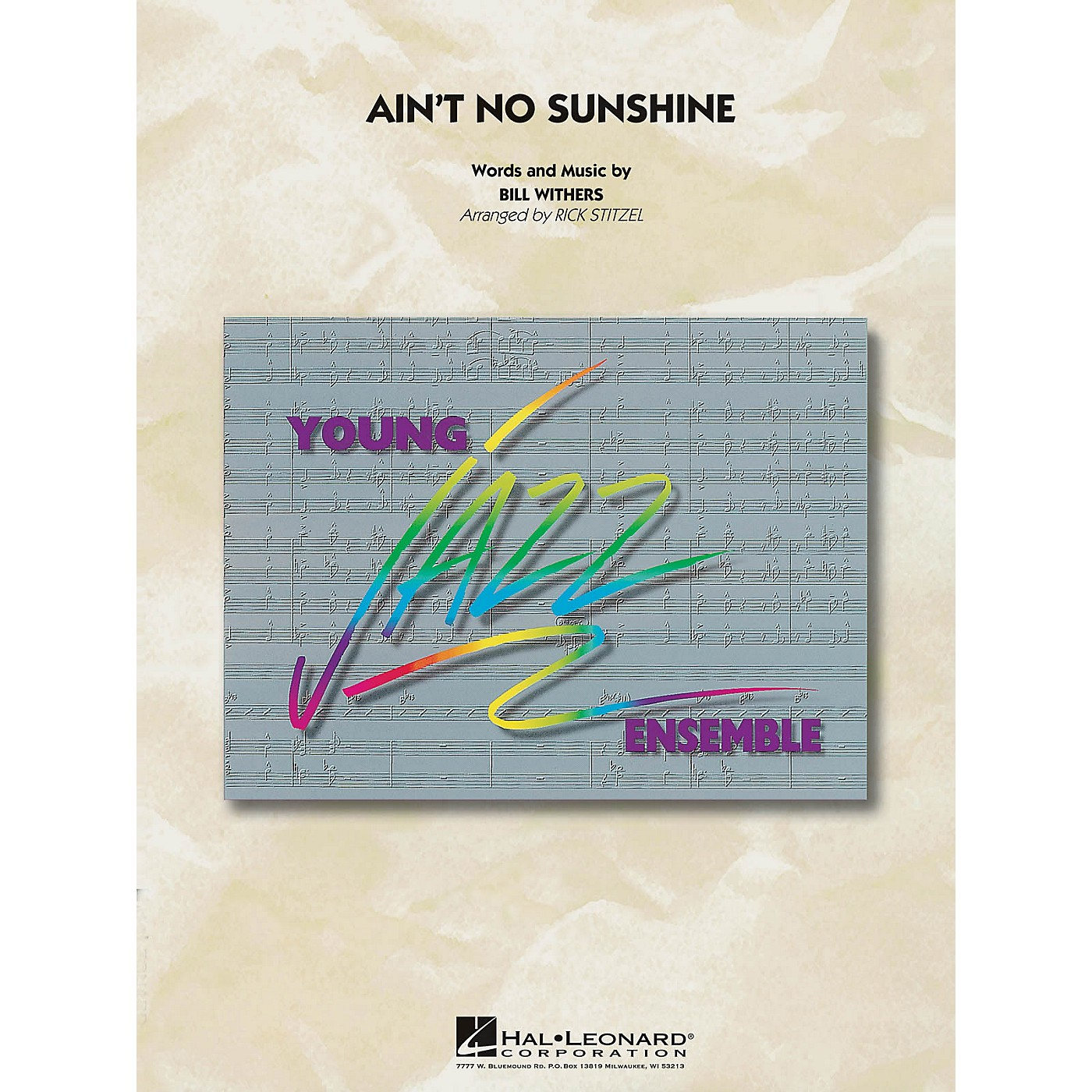 Hal Leonard Ain't No Sunshine - Young Jazz Ensemble Series Level 3 thumbnail