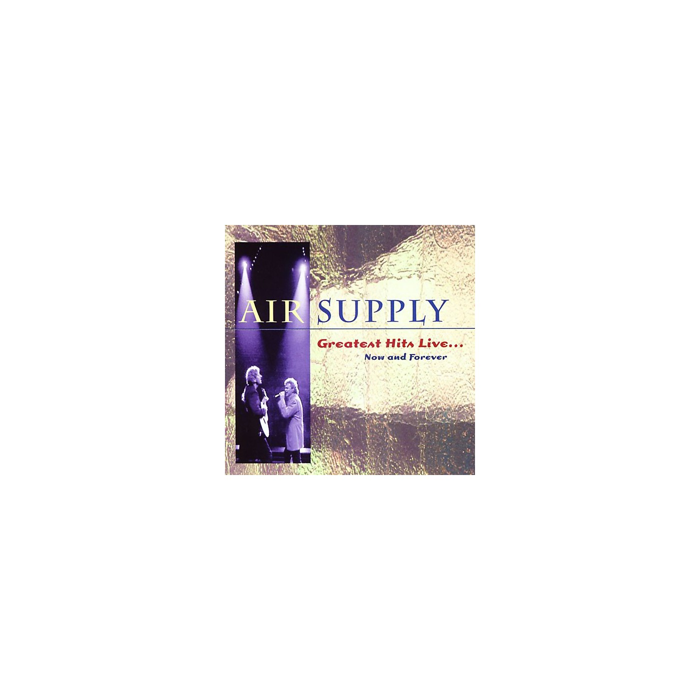 Alliance Air Supply - Greatest Hits Live: Now and Forever (CD) thumbnail