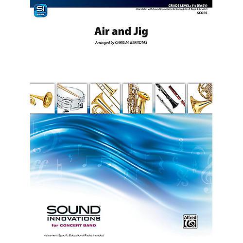 Alfred Air and Jig Concert Band Grade 1.5 Set thumbnail