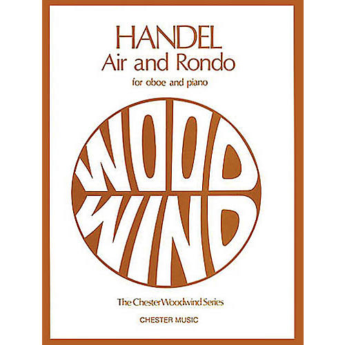 Chester Music Air and Rondo for Oboe and Piano Music Sales America Series thumbnail