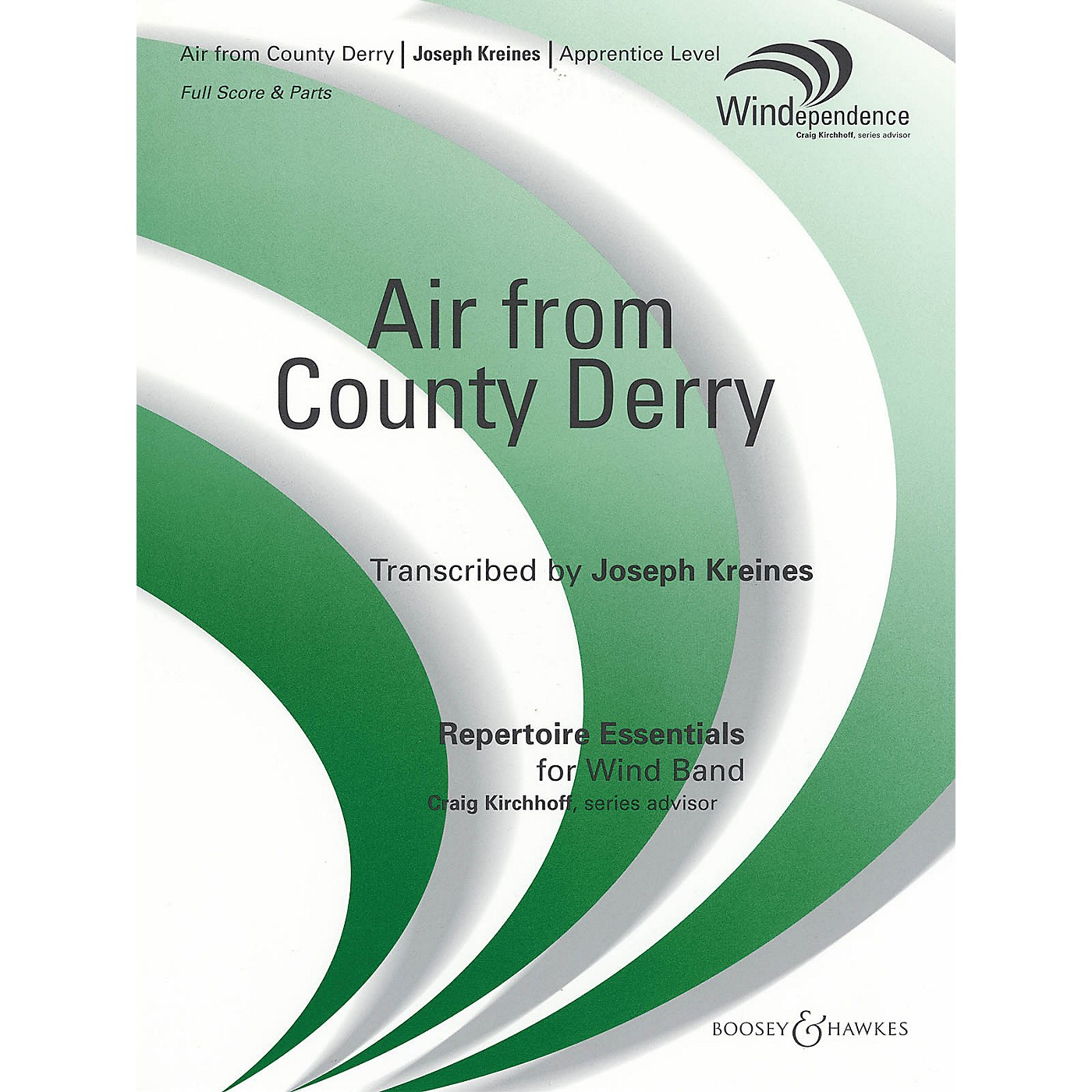 Boosey and Hawkes Air from County Derry Concert Band Composed by Joseph Kreines thumbnail