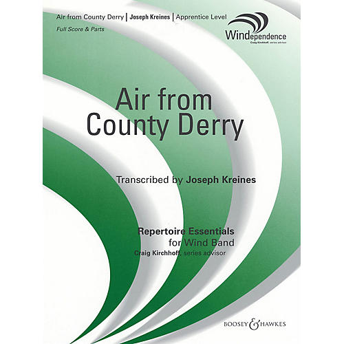 Boosey and Hawkes Air from County Derry (Score and Parts) Concert Band Composed by Joseph Kreines thumbnail