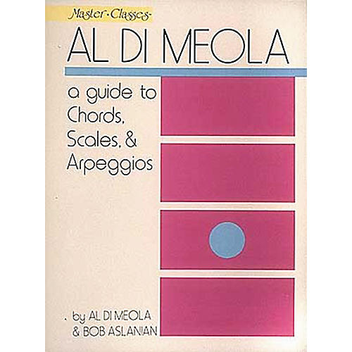 Hal Leonard Al Di Meola - A Guide To Chords, Scales and Arpeggios thumbnail