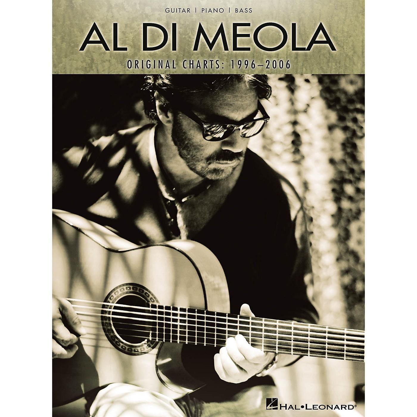 Hal Leonard Al Di Meola - Original Charts: 1996-2006 (Guitar/Piano/Bass) Artist Books Series Softcover by Al Di Meola thumbnail