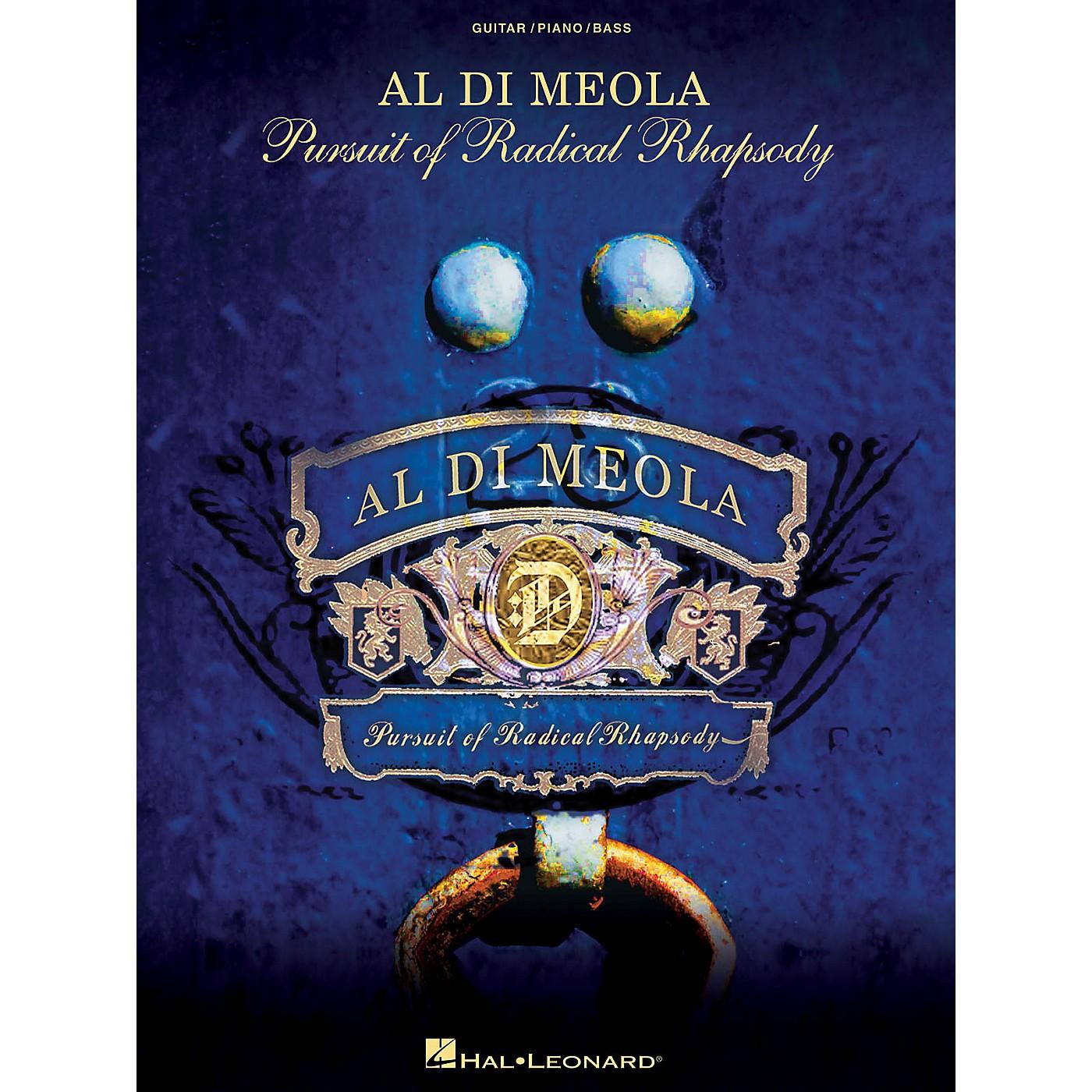 Hal Leonard Al Di Meola - Pursuit of Radical Rhapsody Artist Books Series Softcover Performed by Al Di Meola thumbnail