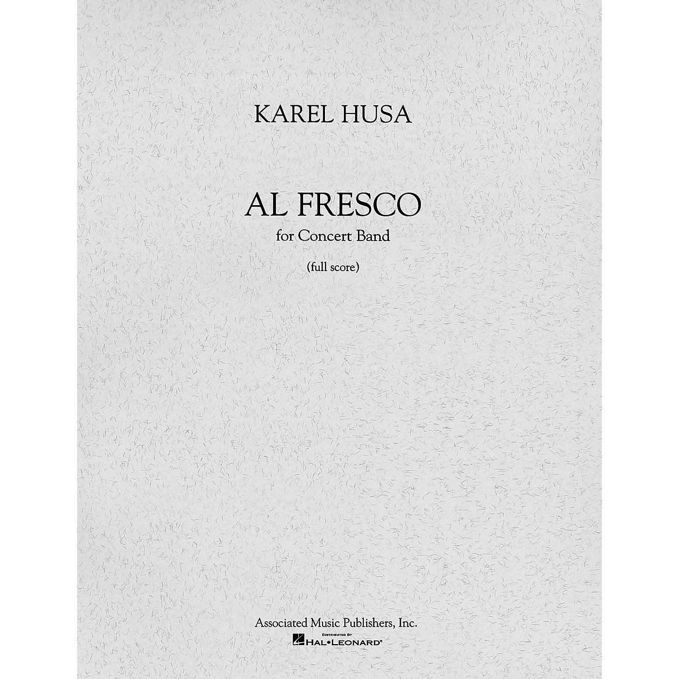 Associated Al Fresco (Full Score) Concert Band Composed by Karel Husa thumbnail