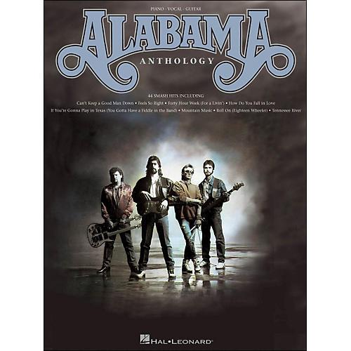 Hal Leonard Alabama Anthology arranged for piano, vocal, and guitar (P/V/G) thumbnail