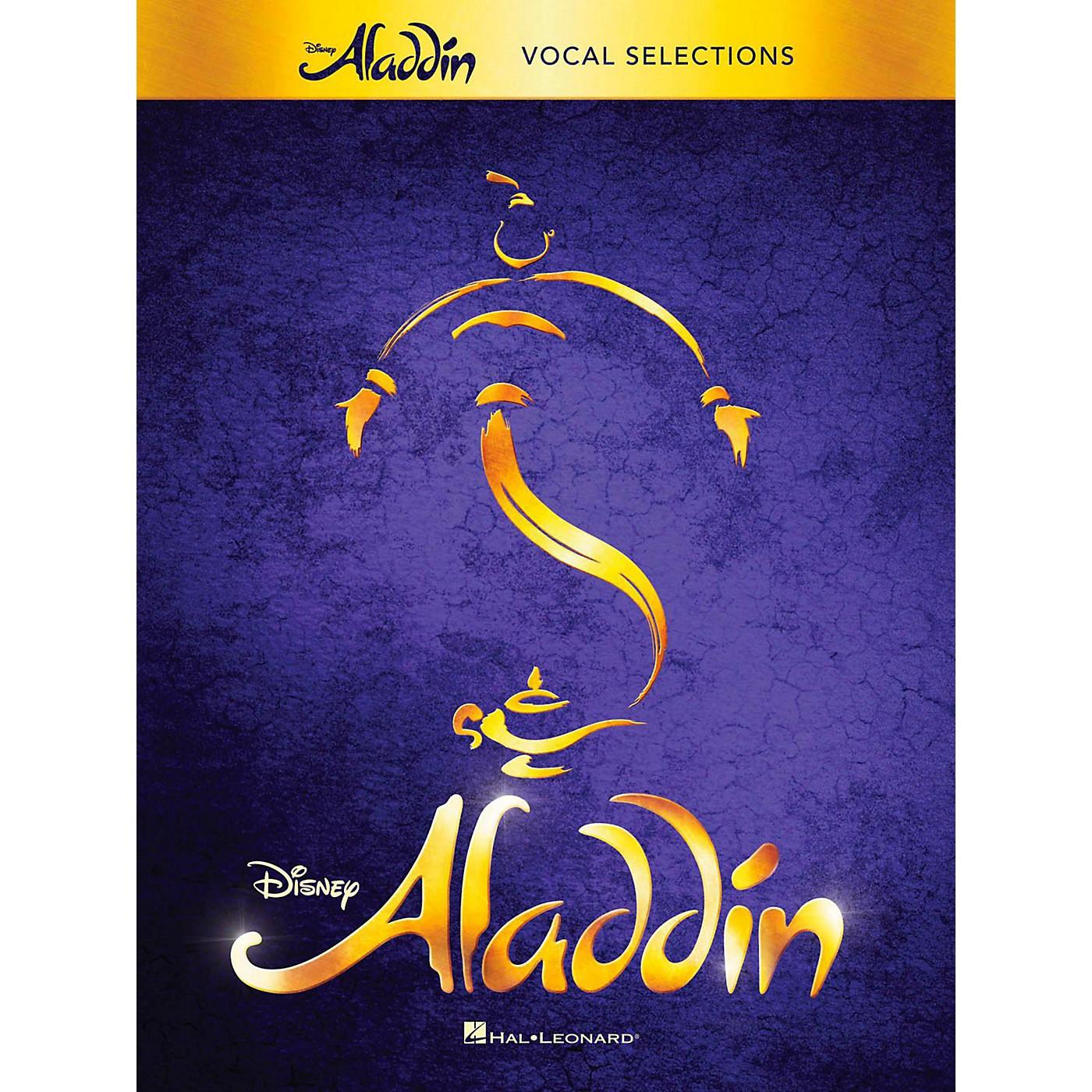 Hal Leonard Aladdin - Broadway Musical Vocal Selections w/ Piano Accompaniment thumbnail