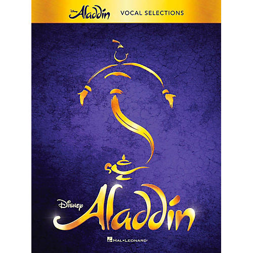 Hal Leonard Aladdin - Broadway Musical Vocal Selections w/ Piano Accompaniment thumbnail