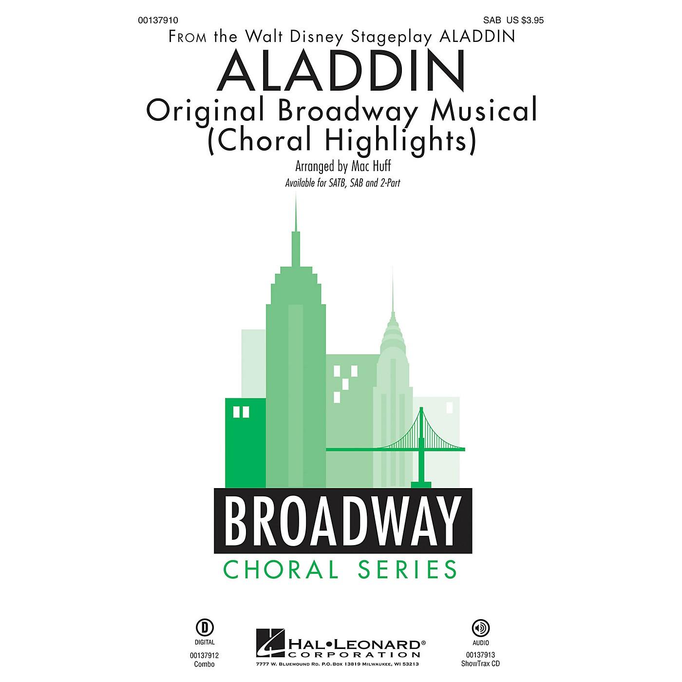Hal Leonard Aladdin - Original Broadway Musical (Choral Highlights) SAB arranged by Mac Huff thumbnail
