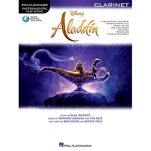 Hal Leonard Aladdin Instrumental Play-Along Series for Clarinet Book/Audio Online thumbnail