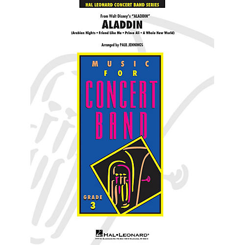 Hal Leonard Aladdin (Medley) - Young Concert Band Level 3 by Paul Jennings thumbnail