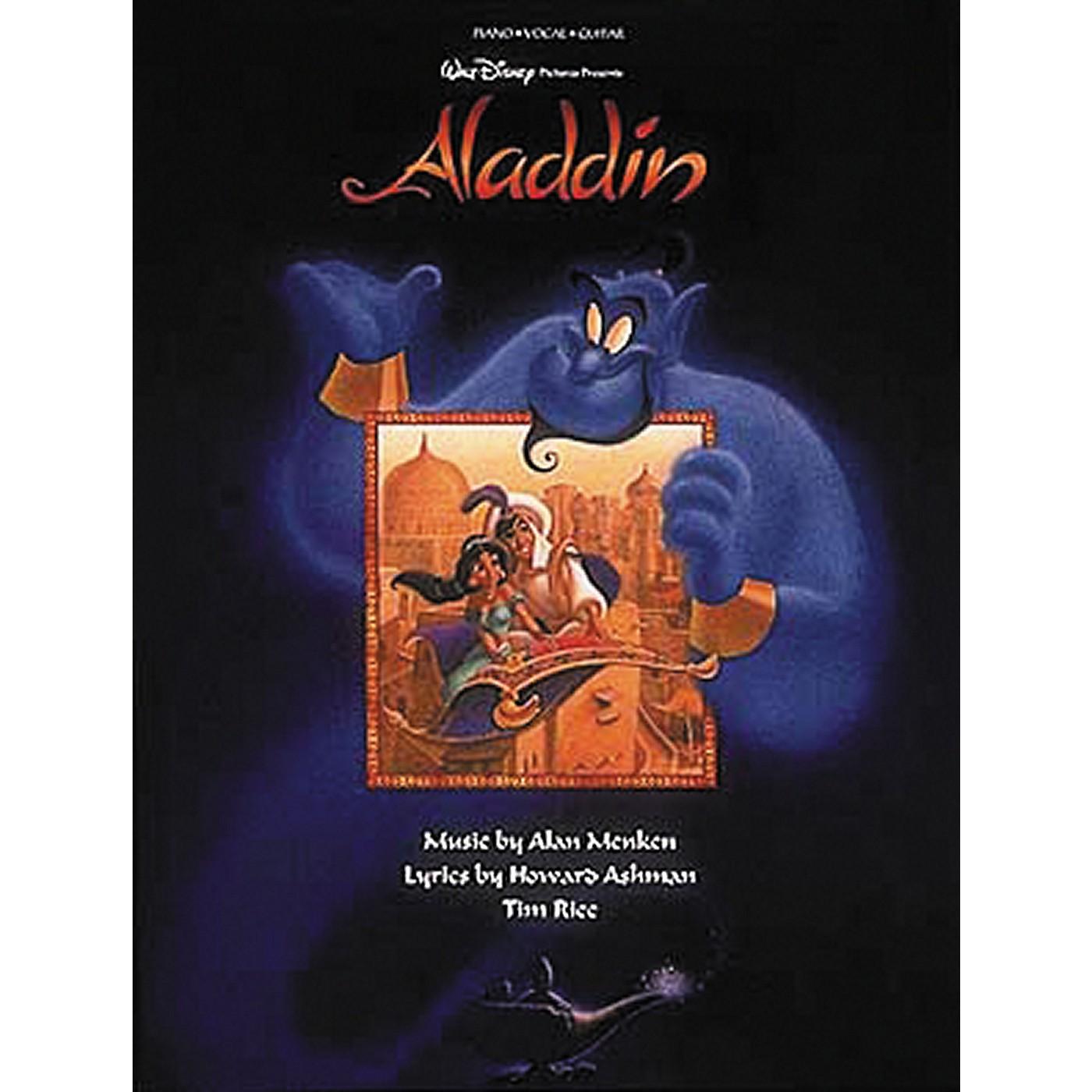 Hal Leonard Aladdin Piano, Vocal, Guitar Songbook thumbnail