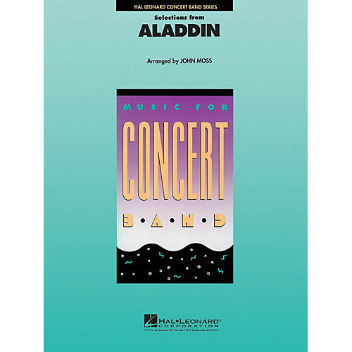 Hal Leonard Aladdin, Selections from Concert Band Level 4 Arranged by John Moss thumbnail
