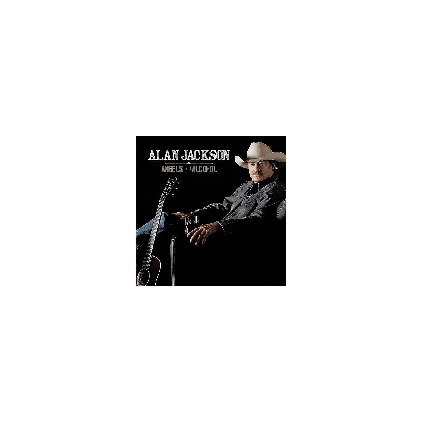 Alliance Alan Jackson - Angels and Alcohol (CD) thumbnail