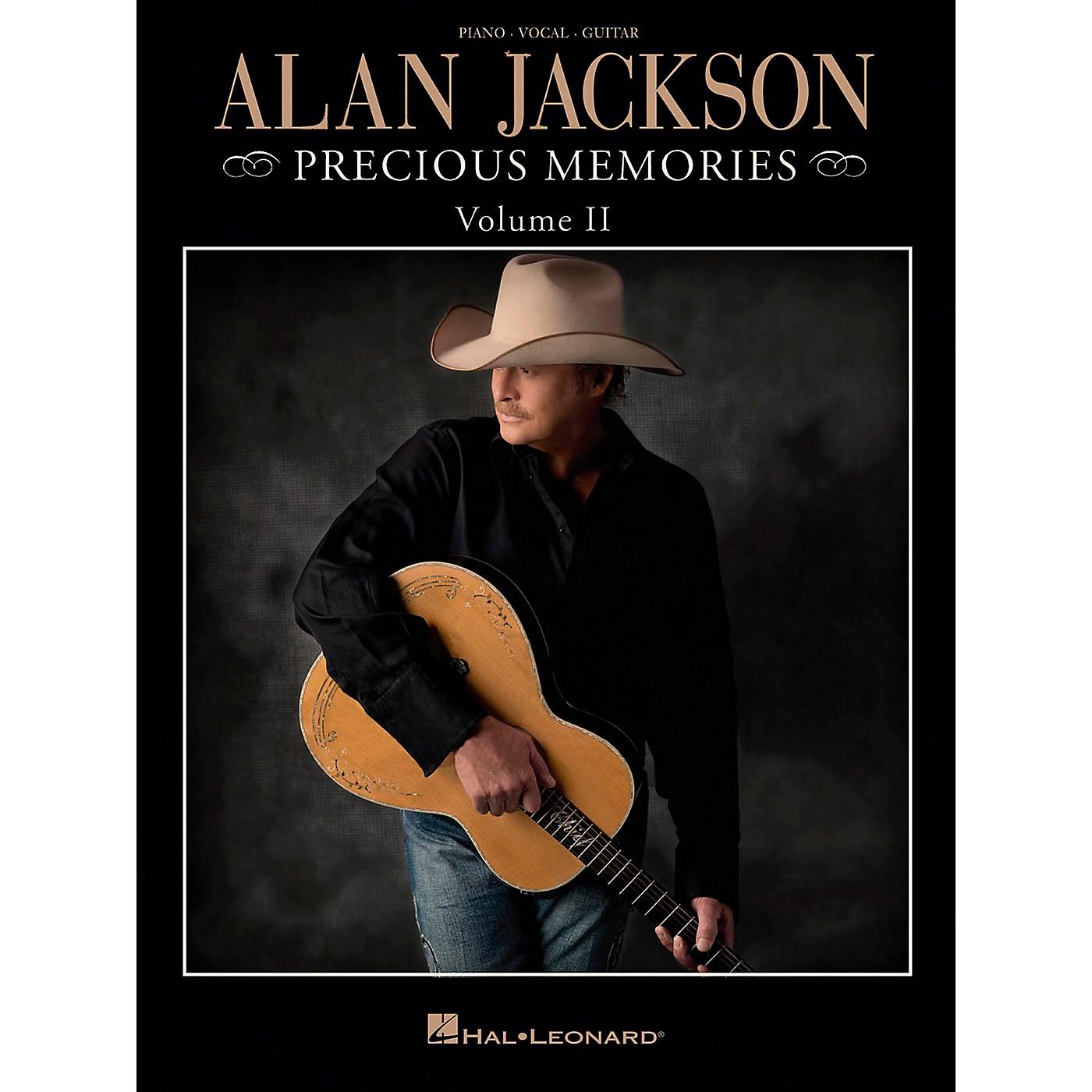 Hal Leonard Alan Jackson - Precious Memories Volume 2 for Piano/Vocal/Guitar (P/V/G) thumbnail