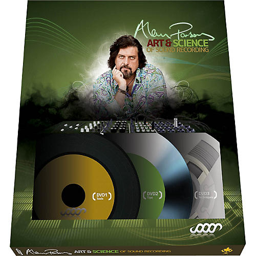 Hal Leonard Alan Parsons Presents The Art And Science Of Sound Recording DVD Set (3 Disc Set) thumbnail
