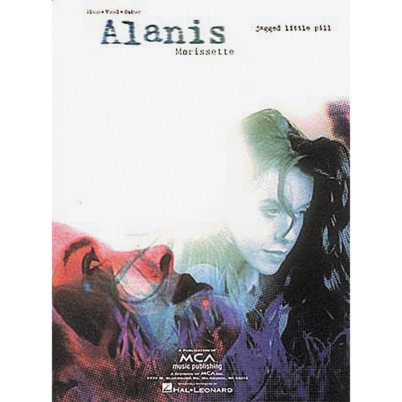 Hal Leonard Alanis Morissette Jagged Little Pill Piano, Vocal, Guitar Songbook thumbnail