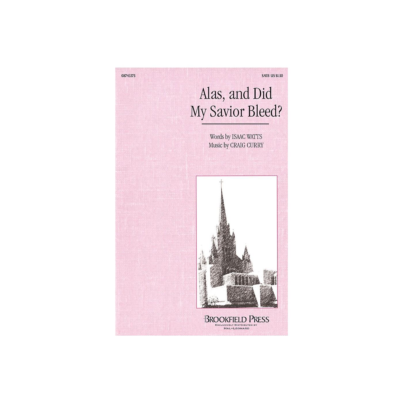 Hal Leonard Alas, and Did My Savior Bleed? SATB composed by Craig Curry thumbnail