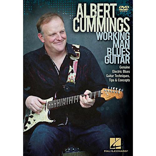 Hal Leonard Albert Cummings - Working Man Blues Guitar DVD thumbnail