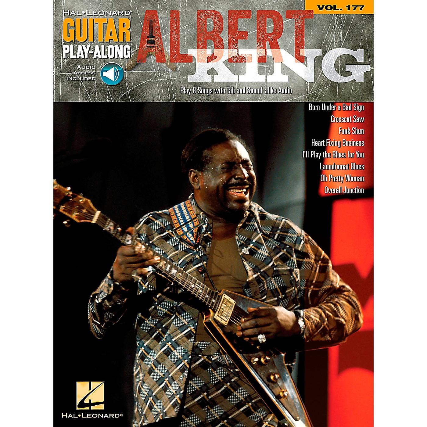 Hal Leonard Albert King - Guitar Play-Along Volume 177 Book/CD thumbnail