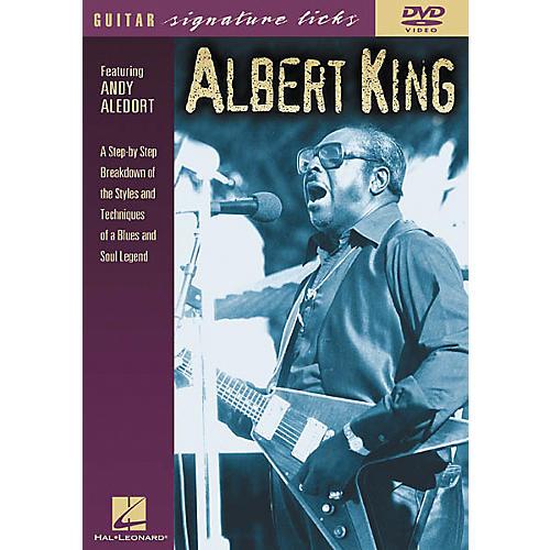 Hal Leonard Albert King Guitar Signature Licks (DVD) thumbnail