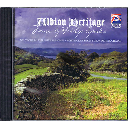 Anglo Music Press Albion Heritage (Anglo Music Press CD) Concert Band Composed by Philip Sparke thumbnail