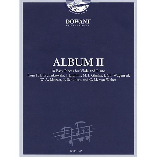 Dowani Editions Album Vol. II (Easy) Viola and Piano (10 Easy Pieces for Viola and Piano) Dowani Book/CD Series thumbnail