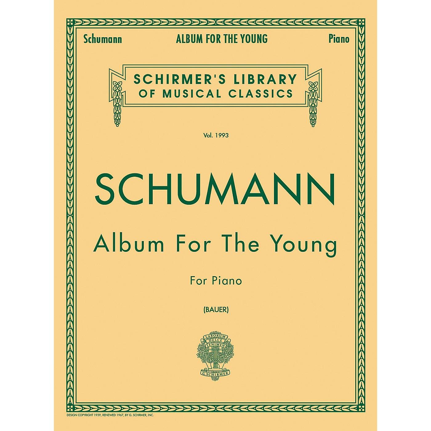 G. Schirmer Album for The Young Op 68 Centennial Edition By Schumann thumbnail