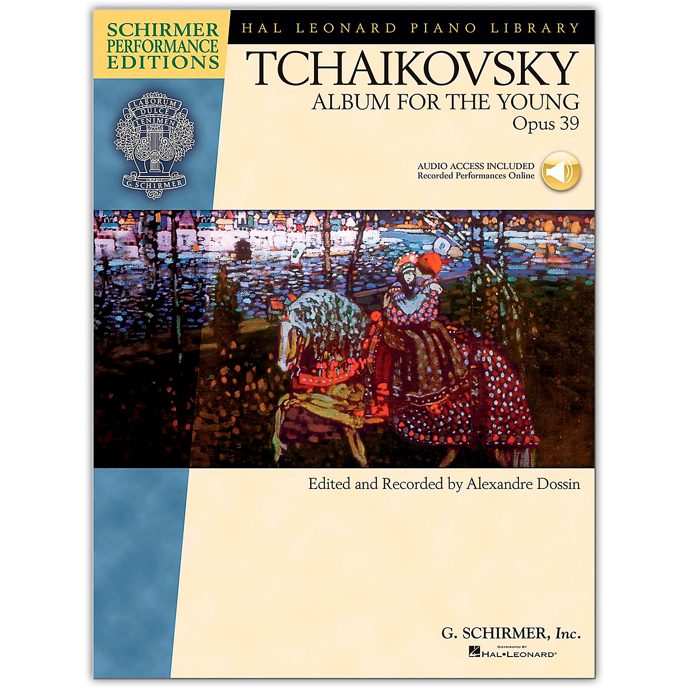 G. Schirmer Album for The Young Op. 39 Piano By Tchaikovsky/Dossin  (Book/Online Audio) thumbnail