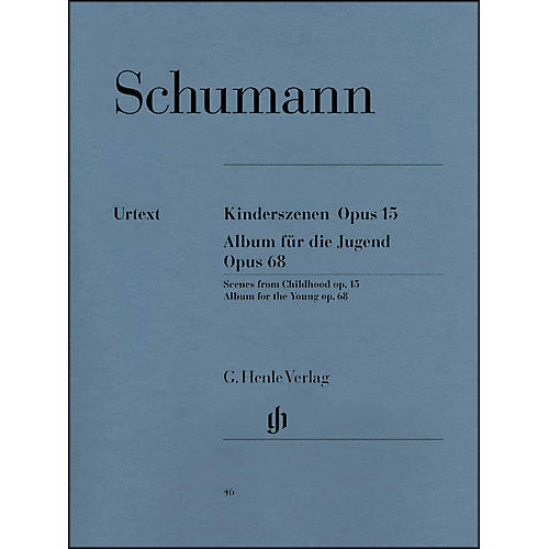 G. Henle Verlag Album for The Young Op. 68 And Scenes From Childhood Op. 15 By Schumann-thumbnail