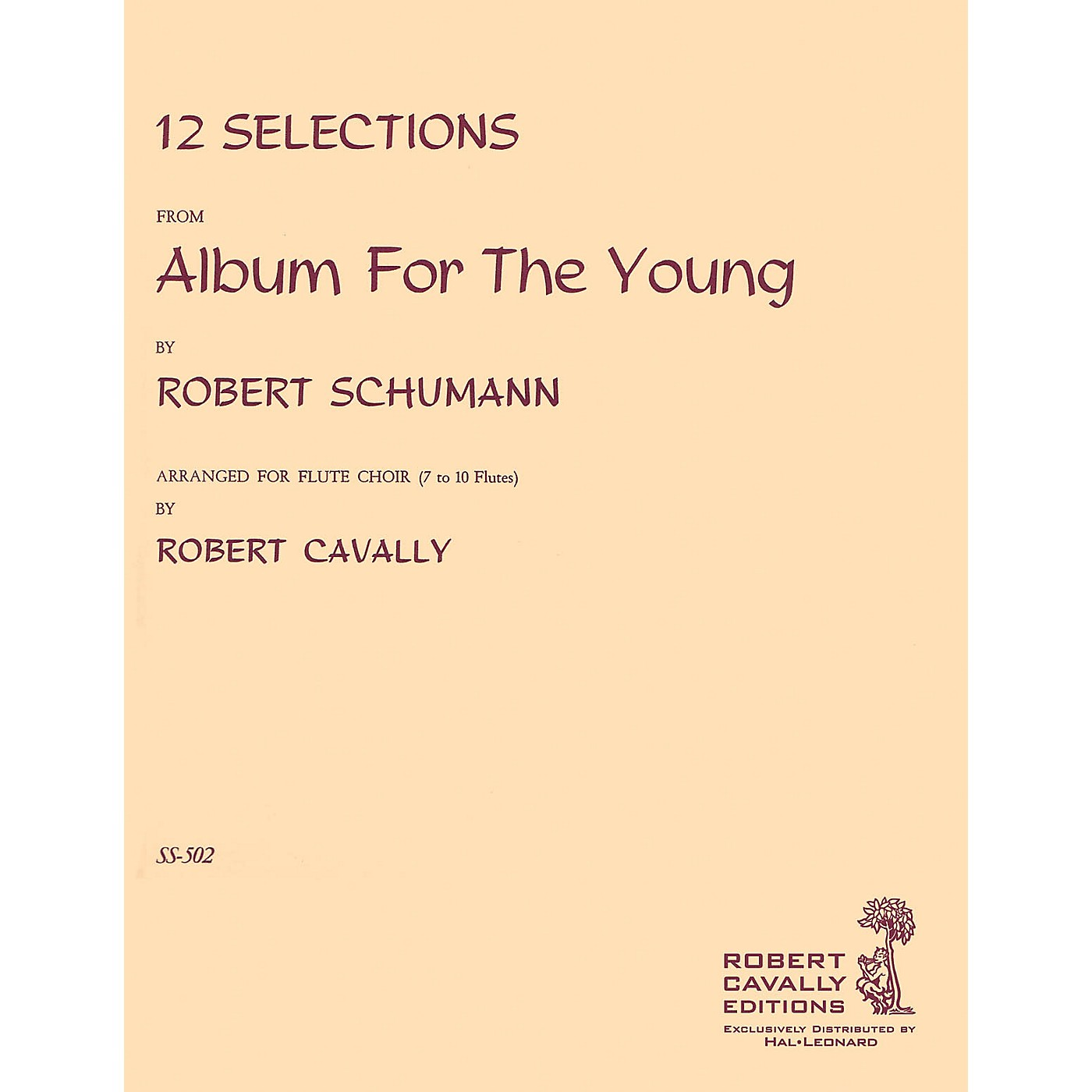 Cavally Editions Album for the Young (12 Selections for Flute Choir) Robert Cavally Editions Series by Robert Cavally thumbnail
