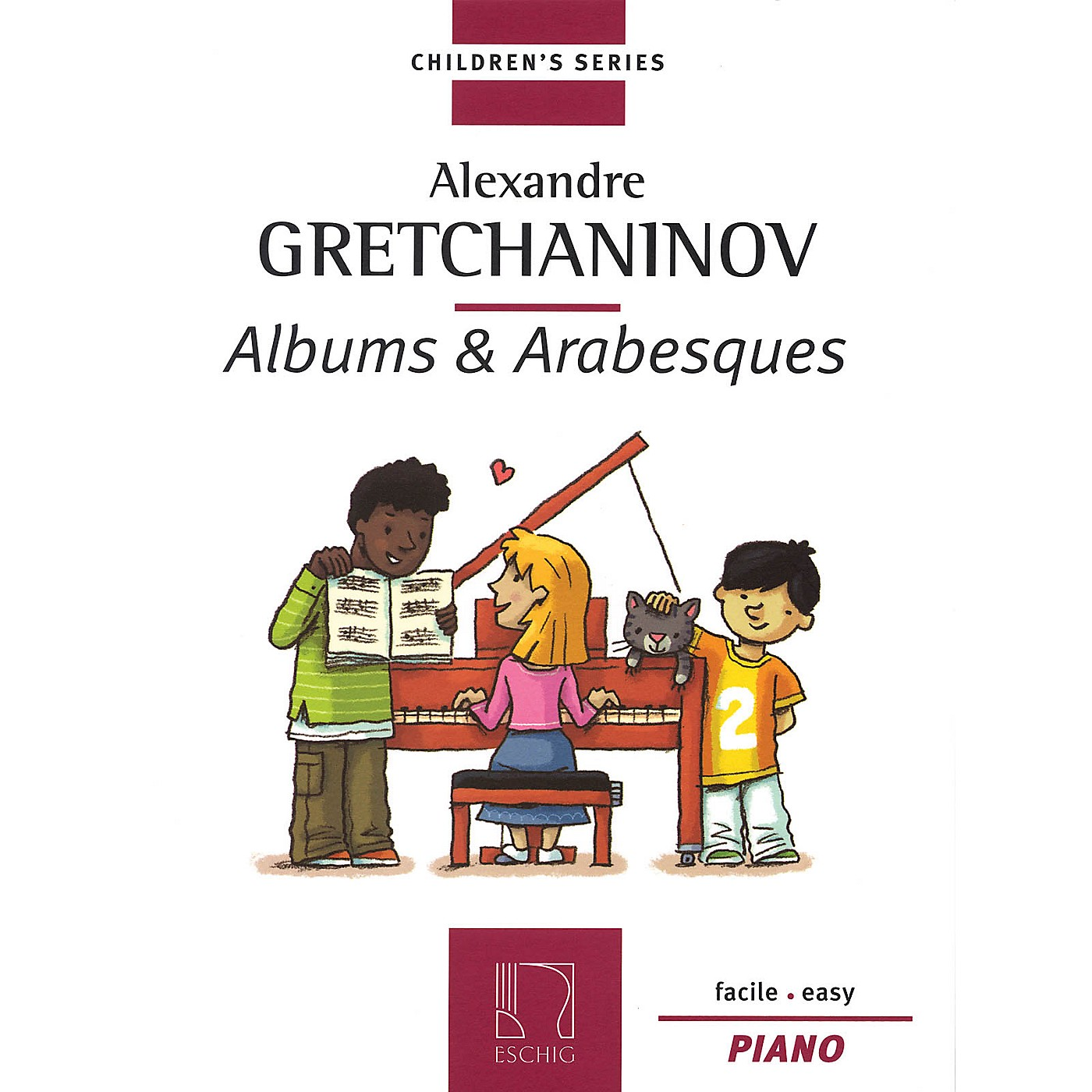 Max Eschig Albums & Arabesques (Children's Series for Piano) Editions Durand Series by Alexander Gretchaninoff thumbnail