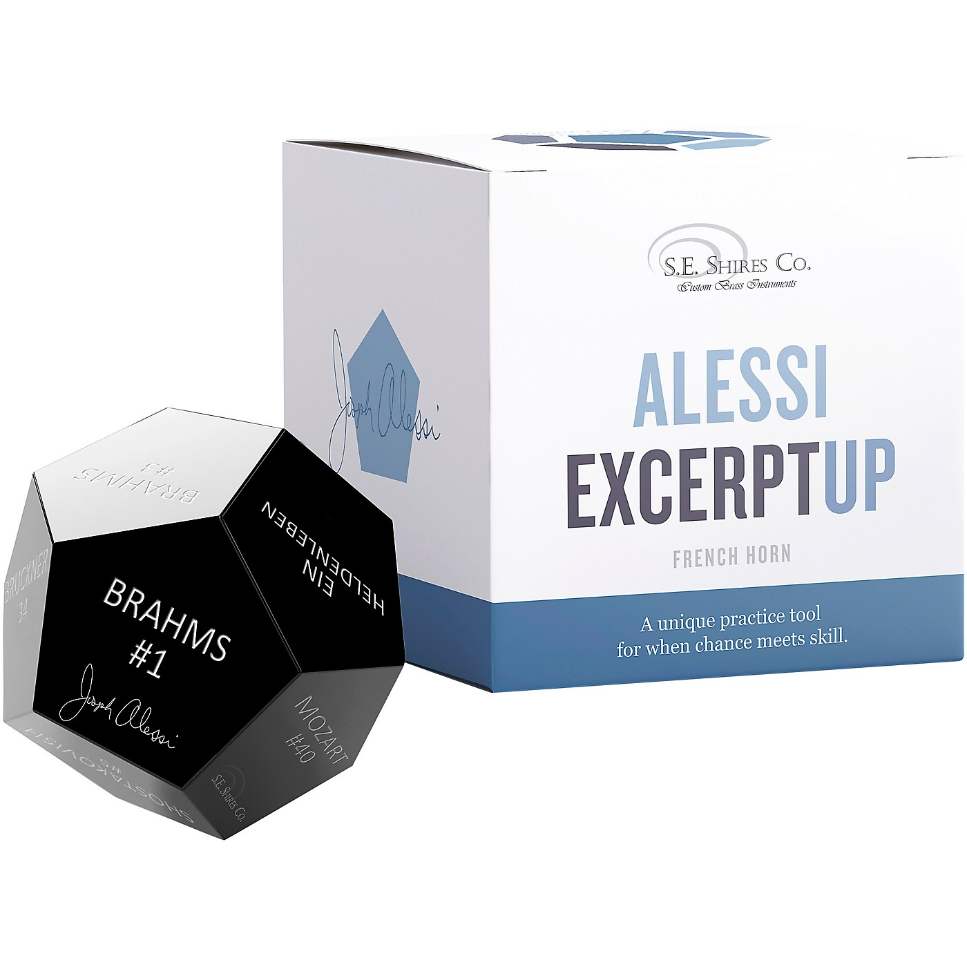 S.E. SHIRES Alessi ExcerptUP Practice Tool for French Horn thumbnail