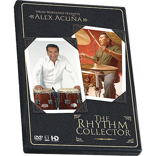 The Drum Channel Alex Acuna - The Rhythm Collector DVD thumbnail