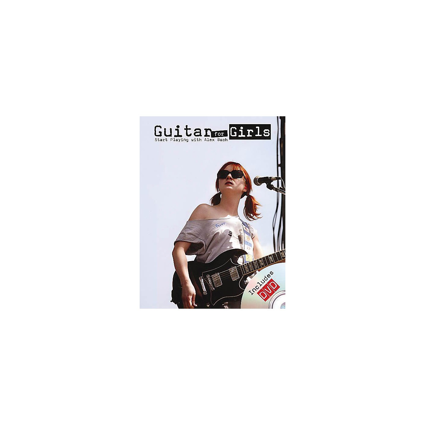 Rock House Alex Bach - Guitar for Girls Music Sales America Series Softcover with DVD Written by Alex Bach thumbnail