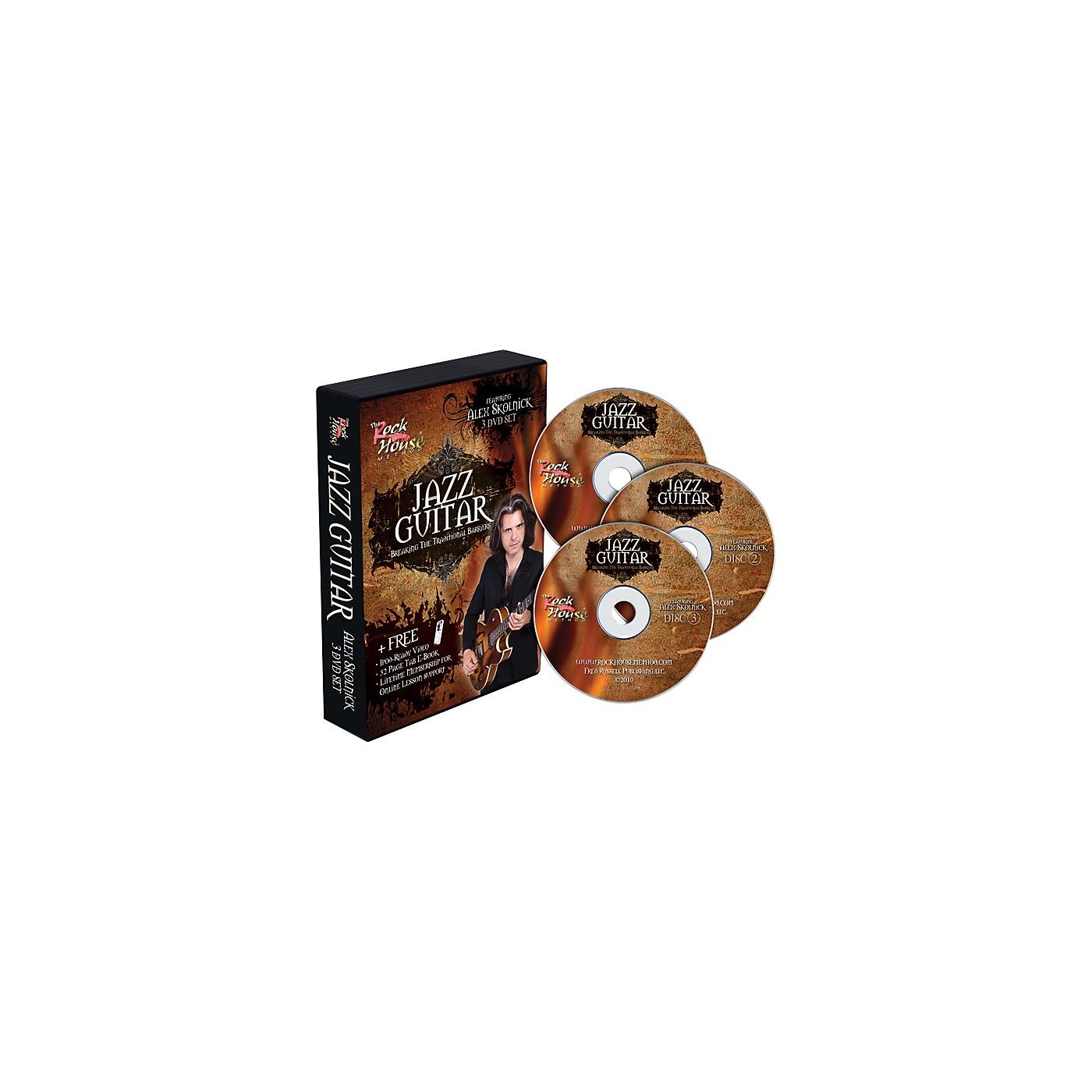 Rock House Alex Skolnick Jazz Guitar: Breaking the Traditional Barriers 3-DVD Set thumbnail