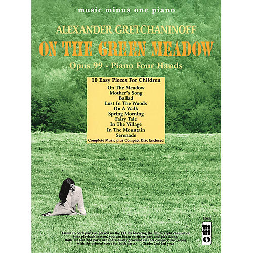 Music Minus One Alexander Gretchaninoff - On the Green Meadow Music Minus One BK/CD by Alexander Gretchaninoff thumbnail